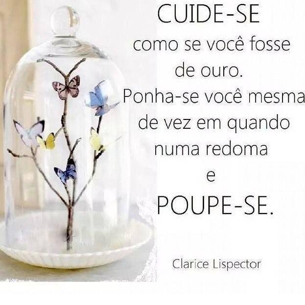 Post  #FALASÉRIO!  : Cuide-se como se você fosse de ouro !