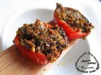 Tomates provençales au four