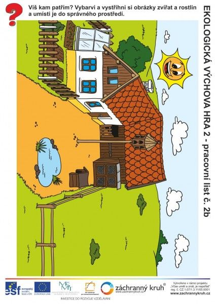 Ekologická výchova - kde bydlí?, Záchranný kruh