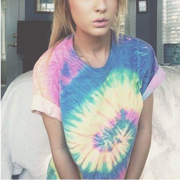 Tie Dye Shirt Tumblr