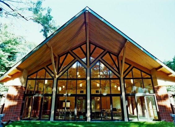Woodlands Temple Designed By Alfandre Architecture Pc