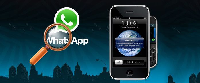 Recover WhatsApp message from iPhone for free!