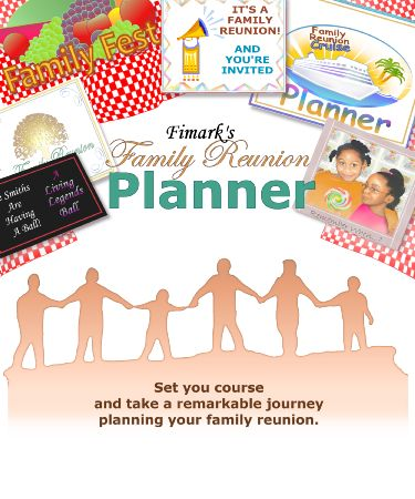 Fimarks Family Reunion Planner A Planning Guide Workbook Keepsake By Mark Askew
