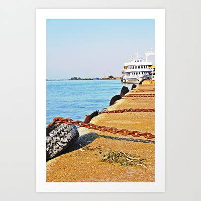 Port Art Print by marialivia16 - $14.04