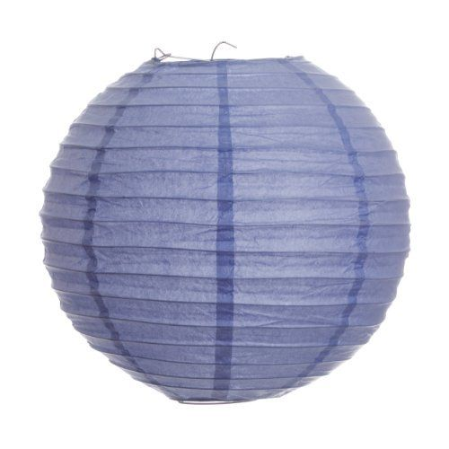 Koyal 24-Inch Paper Lantern, Lavender by Koyal. $6.96. Light Kit Sold Separately. Pair this with other Koyal Wholesale products, such as vases, event decorations, lighting, DIY craft supplies and dessert and candy buffet supplies. Traditional round paper lantern with easy assembly instructions. Perfect for catered presentations, weddings, bridal and baby showers, birthdays, classic candy buffets, dessert tables and more. Wire insert allows for easy hanging. Koyal Wholesale is...
