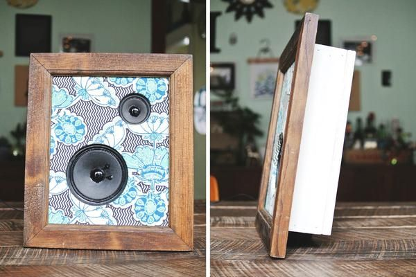handmade framed fabric speakers | farm fresh therapy.jpg