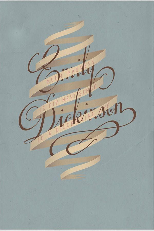 SerialThriller™ — type-lover: Emily Dickinson byVeronica Newell