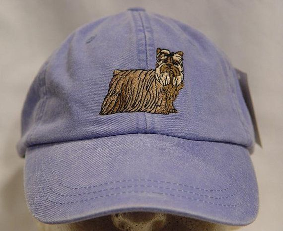 YORKSHIRE TERRIER DOG Hat  One Embroidered Men Women Yorkie