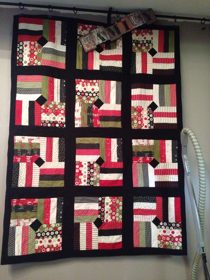 Xmas quilt jelly roll count down