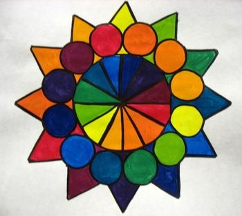 Color Wheel Design Lesson Plan