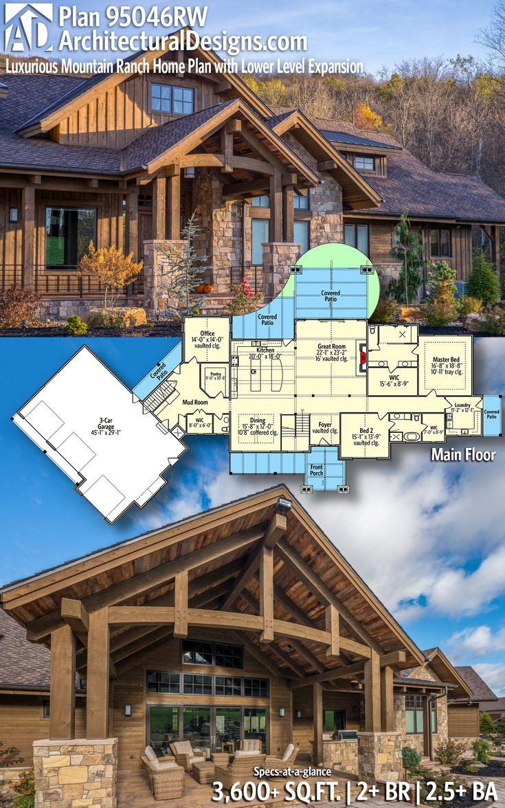 Architectural Designs House Plan 95046RW 2