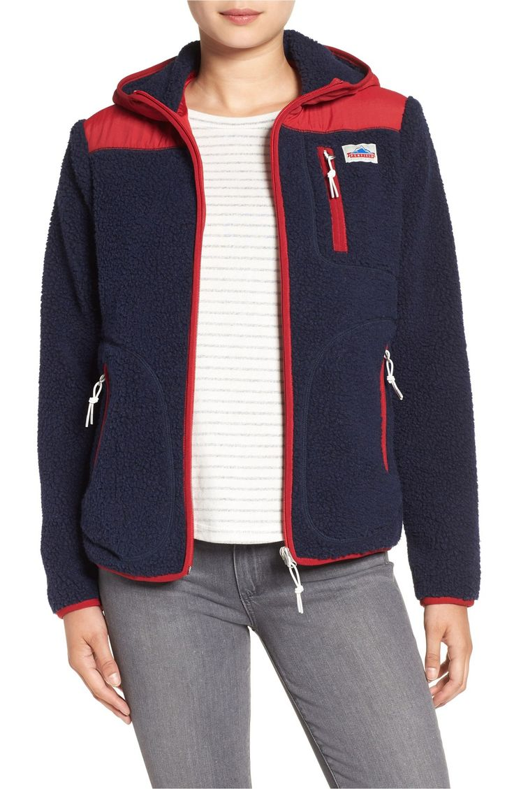 Main Image - Penfield Carson Hooded Fleece Jacket