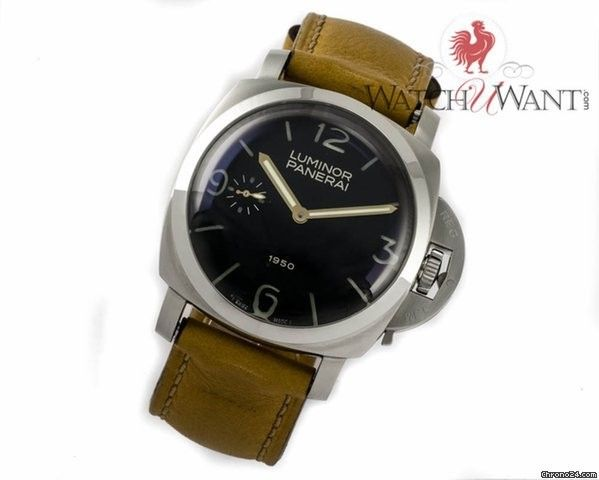 Panerai 1950 Luminor The Original 'Fiddy' Special Edition Only 1950 Pieces 47mm Stainless St