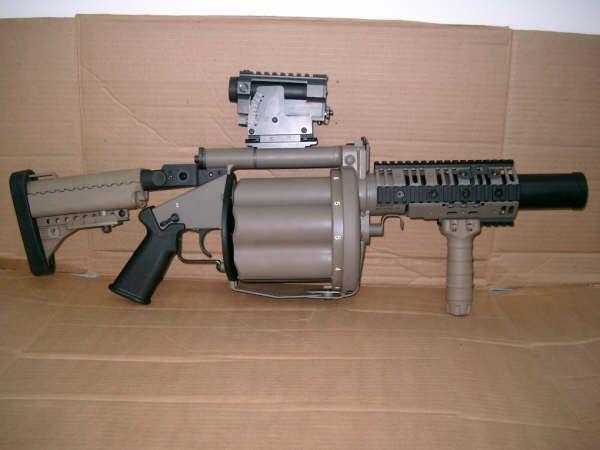 Six-Shot 40mm Grenade Launcher: Meet the M32 MGL.
