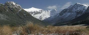 Murchison mountains, New Zealand.