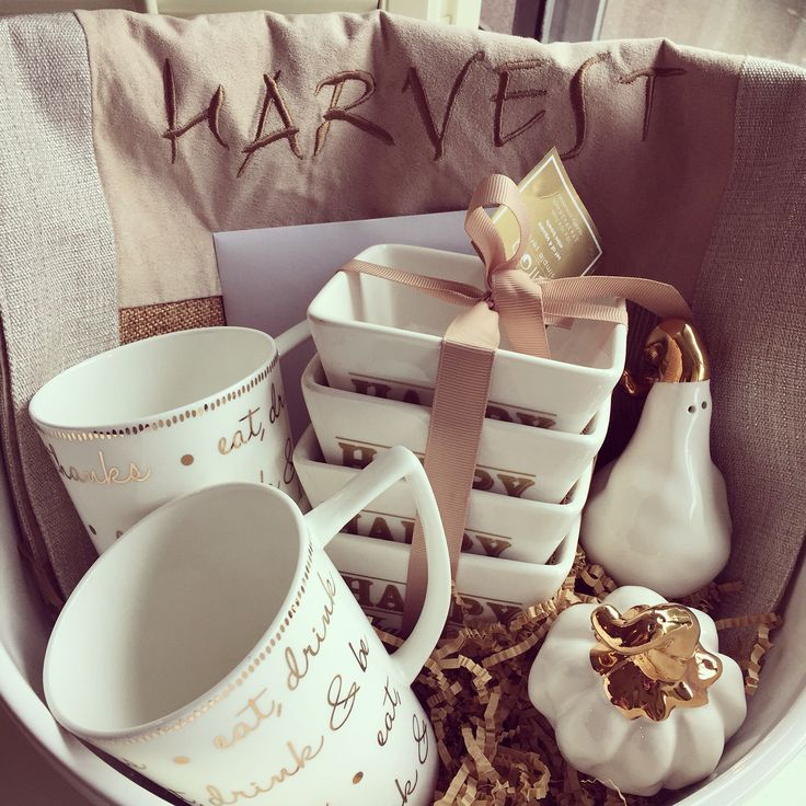 A 'thank you' basket for my clients. So thankful for awesome clients…