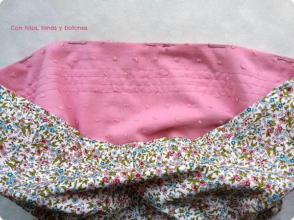 Con hilos, lanas y botones: DIY cómo coser un cubrepañal reversible paso a paso