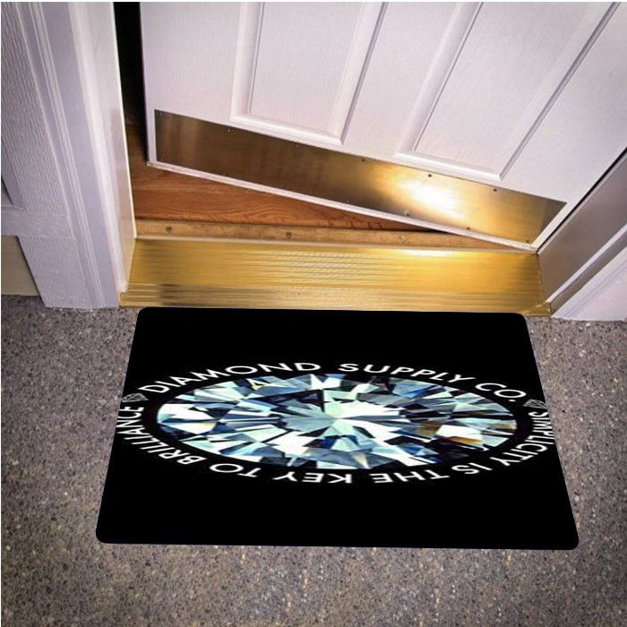 DIAMOND SUPPLY CO SMPLY BEDROOM CARPET BATH OR DOORMATS