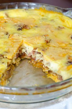 Love quiche, but can't eat the pie crust? You'll love this easy, cheesy quiche that is crustless!