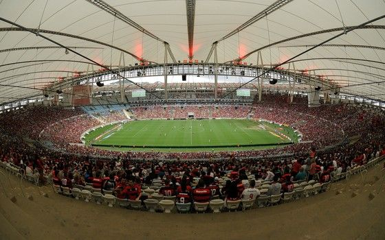 Maracanã, em Flamengo x Joinville, conseguiu reduzir proporção de meias-entradas (Foto: Staff Images)