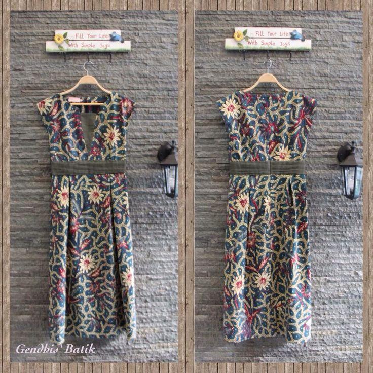 Love this batik Batik, Maxi Dress. Batik tulis lawas halus Pekalongan + lining Tricot by Gendhis Batik. U can find Amelia Gendhis's collections on FB