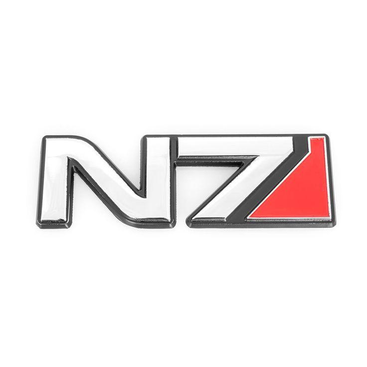 The BioWare Store - N7 Metal Car Emblem