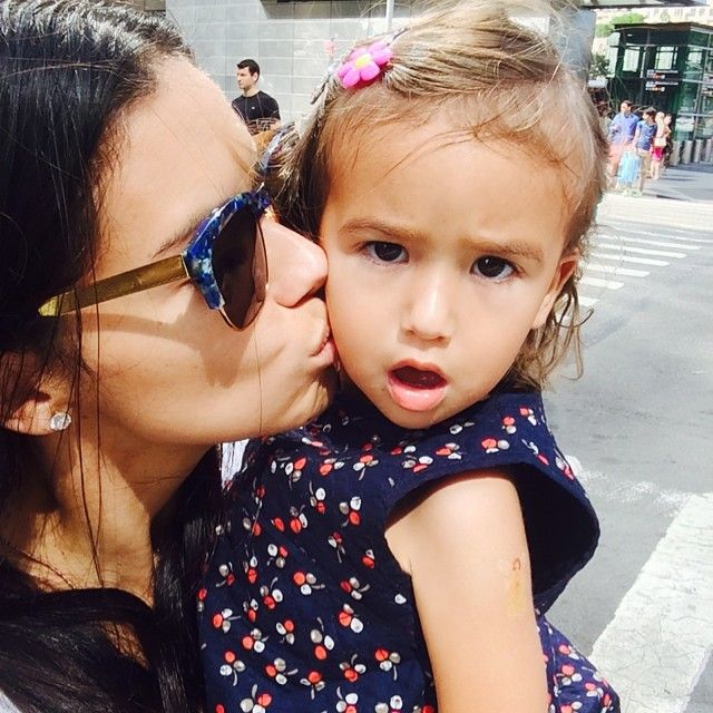 Pin for Later: 22 Precious Pictures of Adriana Lima With Her Daughters