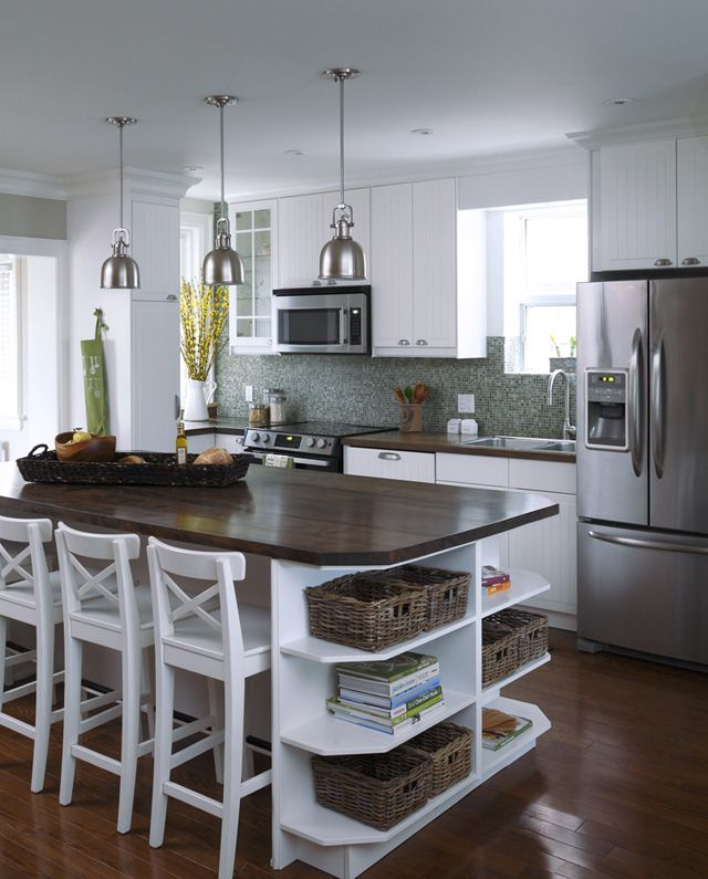 Reclaimed Solid Wood Slab Kitchen Island And Counter Tops   Contemporary    Kitchen Countertops   Toronto   Urban Tree Salvage