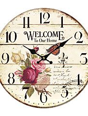 Land Floral Wall Clock – EUR € 19.99