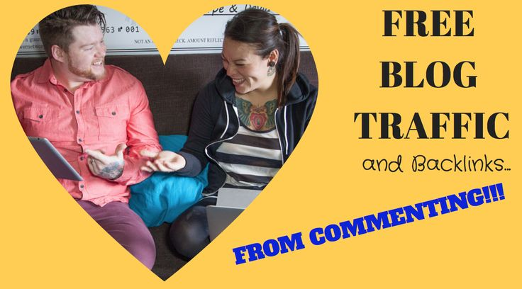 How can commenting on OTHER blogs bring traffic back to you?