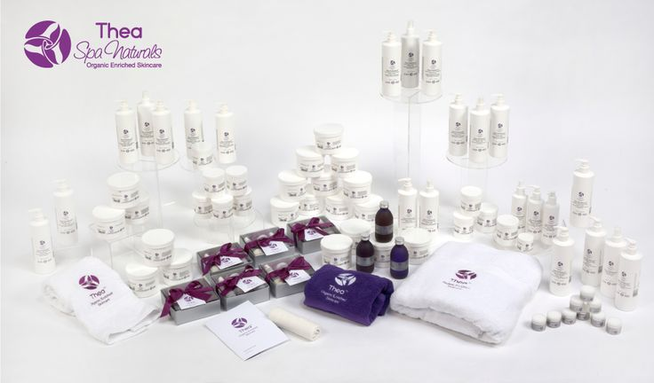 The Thea Spa Range. Natural, organic goodness with results you can believe in. Visit http://www.theaskincare.com/spa-and-wellness/thea-spa-naturals-products