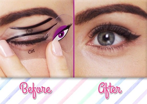 Cat Eye and Smokey Eye Stencils - I must say, especially since I am a total FAILURE with the Cat Eye, that these are quite ingenious idea's!
