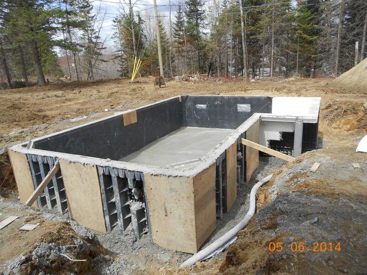 Projet Audrey Faust structure piscine creusée