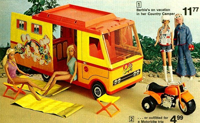 Loved my Barbie Camper