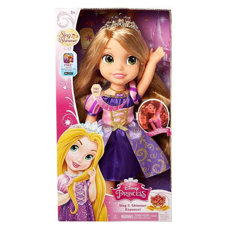 nib disney princess sing and shimmer 15quot toddler doll