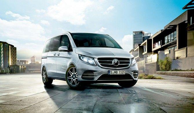 AMGラインを採用したスポーティなVクラスを設定Mercedes-Benz