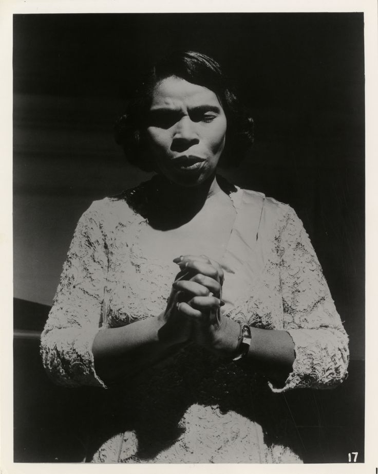 Music, Arts & Literature — Marian Anderson (February 27, 1897 – April 8,...