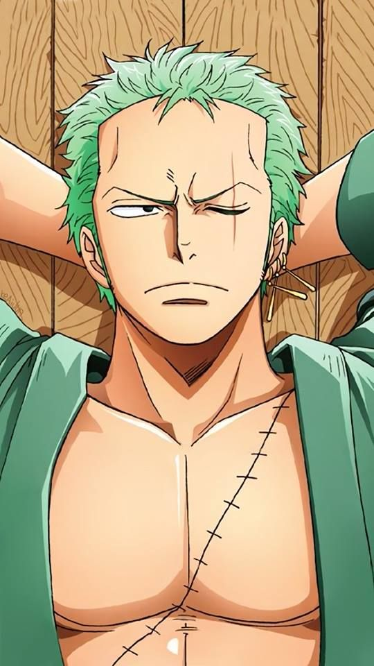 Zoro is my favourite character in One Piece so far!! His nakama are all awesome but he's awesome