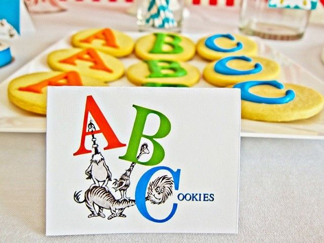 25 best ideas about abc party on pinterest alphabet for Abc cake decoration