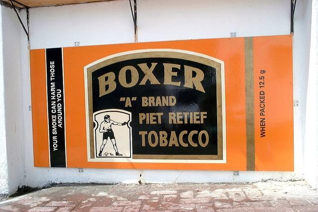 Ek en Jy' Restaurant/take-away  Boxer tobacco