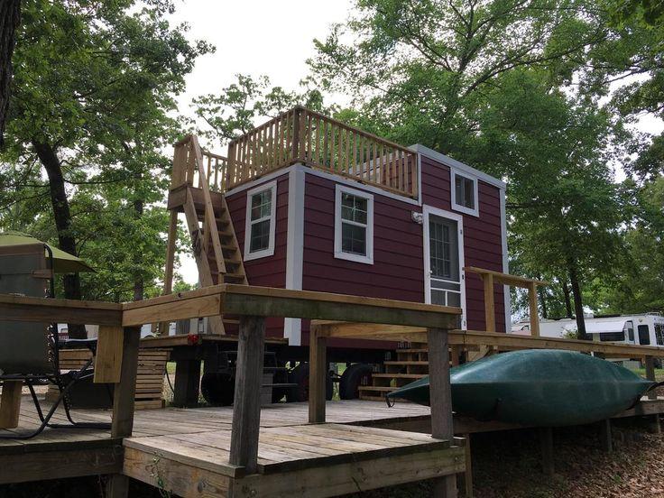 LAKE FORK TINY HOUSE Tiny house exterior, Tiny house on