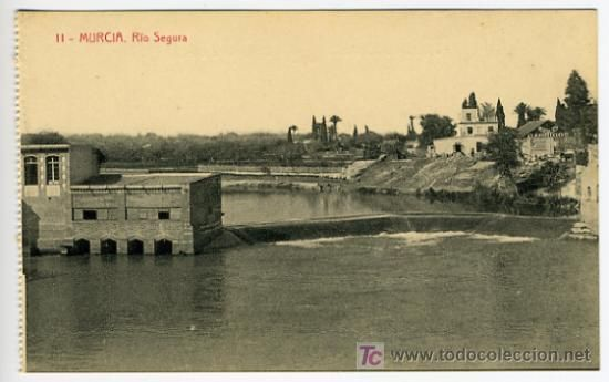Rio Segura visto desde el Puente Viejo
