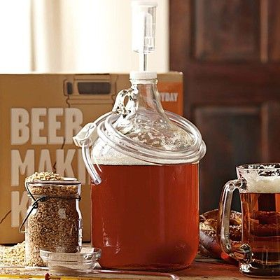9 best teach learn happy hours images on pinterest at home beer with their apartment friendly beer making kits erica shea and stephen valand of the brooklyn brew shop make it easy to craft artisanal beer right in your fandeluxe Images