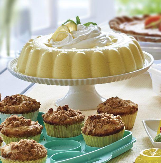 Its like a light, lemony heaven. The Jelicious Lemon Chiffon makes a beautiful (and yummy!) dessert for brunch.
