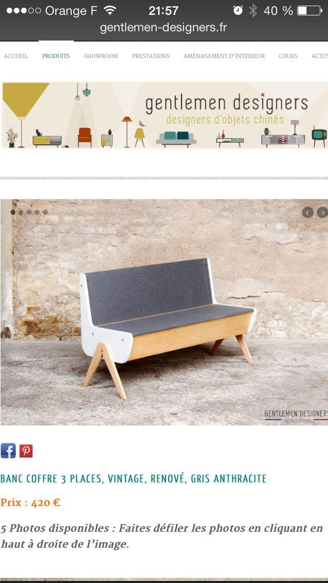 M S De 1000 Ideas Sobre Banc Coffre En Pinterest Banc Rangement Banc Coffre De Jardin Y Banc