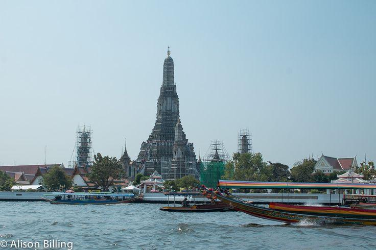 River traffic, Bangkok