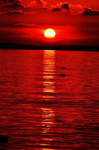 The sunset at Lazise,Lake of Garda Italy. Tramonto Lazise it. by Elias Arcos Hdez, Province of Verona Veneto