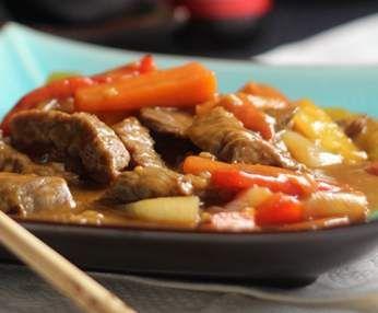 Receta Ternera con salsa de ostras por pazrs - Receta de la categoria Carnes y aves Receta Ternera con salsa de ostras por pazrs - Receta de la categoria Carnes y aves