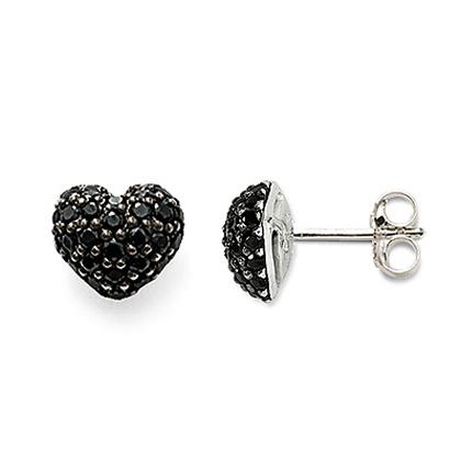 Rebel at heart -Örhängen med svarta stenar, silver - Thomas Sabo - Thomas Sabo - RoyalDesign.se