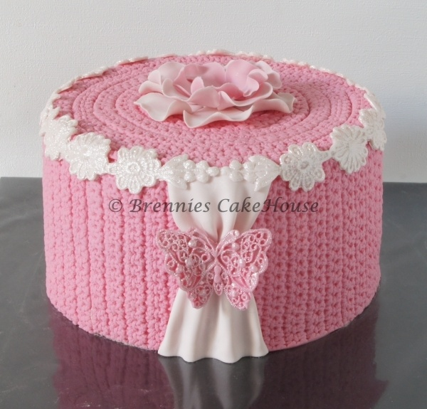 cute pink knitted strawberrycream cake with mojito buttercream: Cupcake, Pink Cakes, Fun Today, Amazing Cakes, Cake Ideas, Mojito Buttercream, Strawberrycream Cake